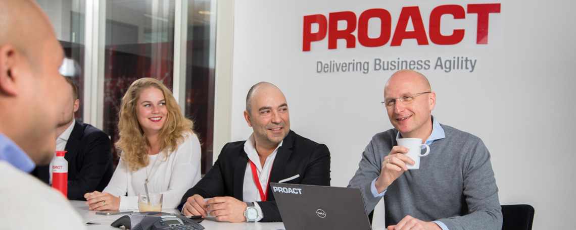 Slideshow Bild 1 Proact Deutschland GmbH - IT Solution Architect - Cloud m/w/d - 7457599